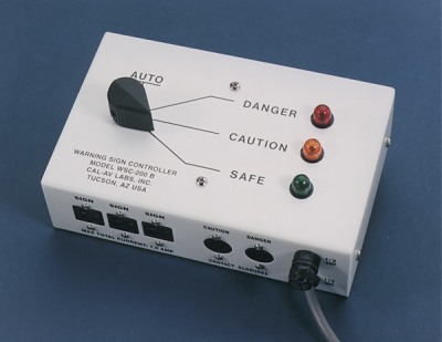 WSC-200B Controller for Illuminated Laser Warning Signs