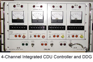 4-Channel Integrated CDU Controller and DDG